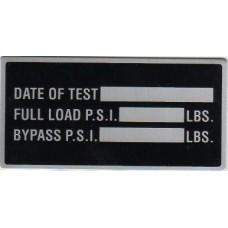 "Data Tag, 4"" x 2"